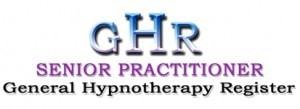 GHR Senior Hypnotherapist