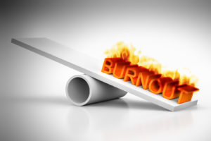 Burnout the worst stress response
